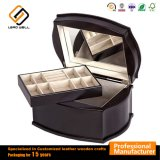 Luxury Packaging Cosmetics Black Storage Wood Crafts Jewelry Box