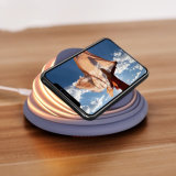 2018 New Multifunctional Qi Wireless Charger with LED Light