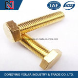 Construction Use Fasteners Hexagon Head Bolts Full Thread