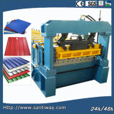 Metal Roof Wall Sheet Cold Roll Forming Machine