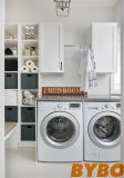 Laundry Cabinets and Drying Rack Over Washer and Dryer (BY-L-02)