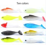 8cm 3D Mermaid Soft Lures with Long Tail for Saltwater Freshwater Fishing Lures