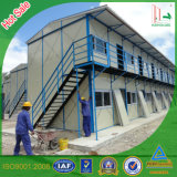 Double Storeys Modern Prefabricated House for Warehouse/ EPS Sandwich Building Material Container House
