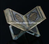 Crystal Koran Islamic Religious Souvenir Gift for Decoration