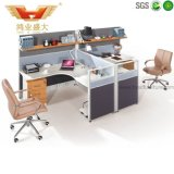 Hot Sale 2 Seater Call Center Workstation Cubicle for Small Office (HY-P07)