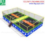Amusement Indoor Trampoline Bed, Jump Trampoline Park Zone (BJ-TP60)