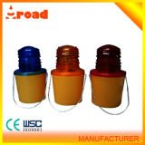Plastic Material Barricade Traffic Warning Light