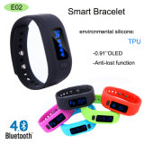 Intelligent Smart Bluetooth Bracelet with Anti-Lost Wristband (E02)