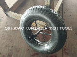 Pop Sell Well Made France Style Air Rubber Wheel (4.80/4.00-8)