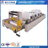 New Style Simple Operation Automatic Base Paper Slitting Rewinding Machine