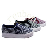 Hot Sale Women′s Fashion Canvas Shoes