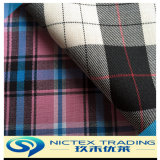 Wool Check Fabric for School Uniform