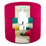 Customized Leisure Public Furniture Office Telephone Booth