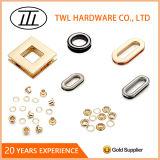 Light Gold Fashion 10mm Metal Eyelets Accessories for Handbags