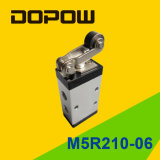 M5r210-06 Latching Manual Mechanical Valve 2 Position 5 Way