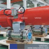 Vatac Stainless Steel V Port Pneumatic Ball Valve