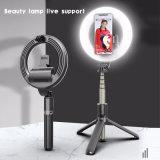 Desktop Bracket Fill Light Mobile Phone Live Broadcasting Beauty LED Ring Light Anchor Selfie Photography Tripod