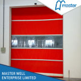 PVC Industrial Fabric High Speed Roll up Door with Ce