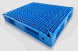 1200*1100*150mm Plastic Pallet Heavy Duty Static 6t Grid Double Side Plastic Tray for Warehouse Products (ZG-1211)