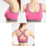 Double Push up Fitness Sportswear Custom Cross Back Sport Bra