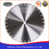 "18"" Laser Welded Diamond Saw Blade for Cutting Reinforced Concrete"