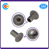 DIN/ANSI/BS/JIS Carbon-Steel/Stainless-Steel Semi-Round Head Rivets