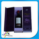 Elegant Wholesale Cardboard Red Wine Paper Wine Packaging Box