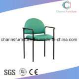 Green Fabric Surface Metal Classical Office Training Chair
