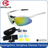Fast Delivery in Stock High Impact Frame UV400 Blocking Bike Riding Sport Sun Glasses