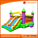 Inflatable Jumping Bouncer Castle with Giant Dual Slide Combo (T2-302)