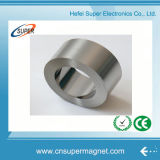 Industrial Strong N38 Sintered Neodymium Cylinder Ring Magnets