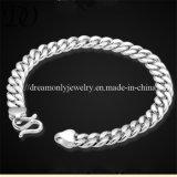 New Arrived Link Chain Bracelets for Men Silver Bracelet
