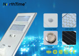 100 Watts All in One / Integrated Solar LED Street Light