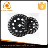 125mm 180mm Concrete Turbo Segment Diamond Cup Grinding Wheel