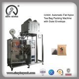 Wholesale Pillow/Flat Nylon Tea Bag Packing Machine with Outer Envelope