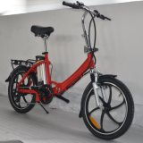 20inch Folding Bike with Removable Battery and PAS