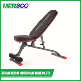 Commercial Waist Exercise Utility Adjustable Bench Home Gym Fitness Equipment/