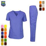 Cotton Colorful Wholesale Europe Hospital Medical Scrub Nurse Uniform