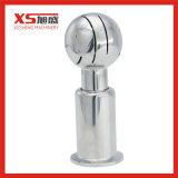 SS304 Sanitary 360 Degree CIP Rotating Clamp Cleaning Spray Ball