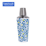 Bestsub Sublimation 900ml Stainless Steel Cocktail Shaker (White)
