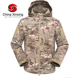 China Xinxing Military Uniform Shark Skin Digital Camouflage Fleece Winter Windproof Flight Jacket