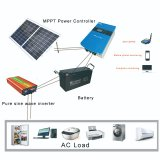 Chinese manufacture 2000W solar power system off grid power home