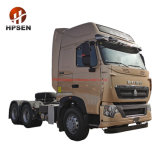 Cheap Sinotruk 3axle 6X4 HOWO Tractor 375HP China Used Truck Tractors