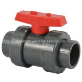 New Compact PVC Valve PVC Ball Valve Plastic Valve with Threaded or Socket Hot Sales