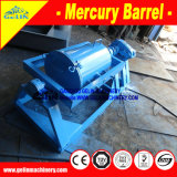 Gold Mercury Amalgamation Barrel for Smelt-Grade Gold