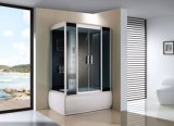 2 People Hot Tub Sauna Jacuzzi Steam Shower (8844)
