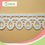 Embroidery Lace Curtain Fabric Thin Cotton Lace