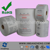 Custom Full Color Thermal Transfer Care Rolled Weather Resistant Polyester Labels