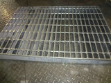 Plain, Close End, Hot-DIP Galvanized Steel Grating (JG908/40/100)