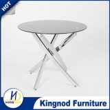 Clear Round/Rectangular Best Sell Table Glass Dining Table